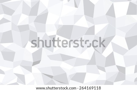 wallpaper, illustration and backdrop concept - blurred abstract monochrome geometric pattern low poly background - stock photo