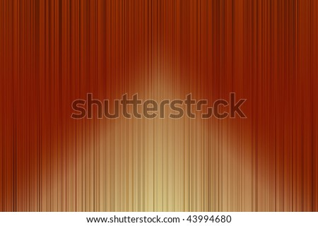 wallpaper illustration - curtain with red light spot