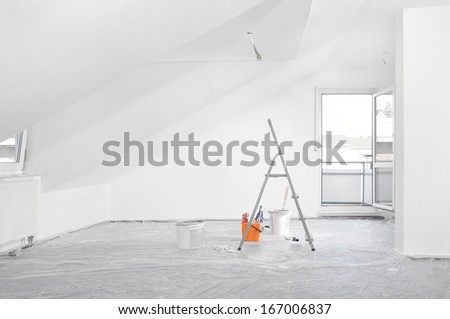 Wallpaper painting