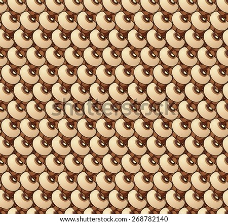 wallpaper pattern of black eyed peas - stock photo