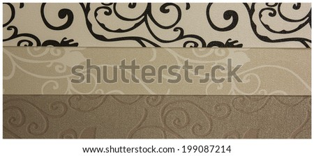 wallpaper texture collections. - stock photo