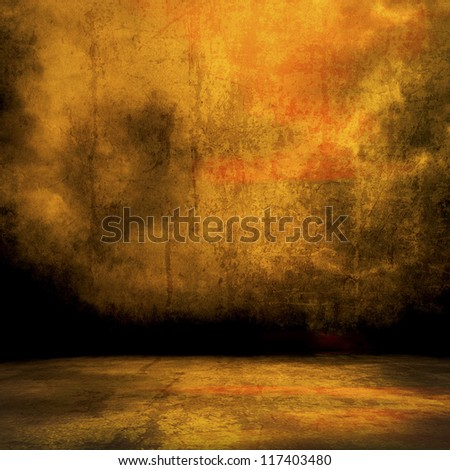 walls on the ground level - stock photo