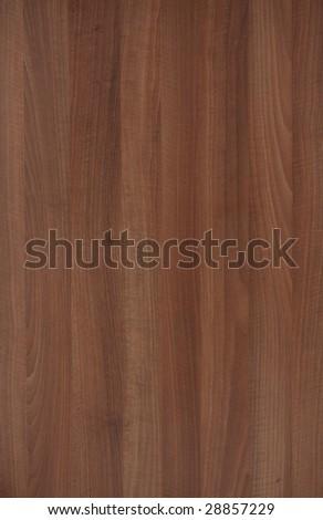 Walnut laminated floor pattern - stock photo