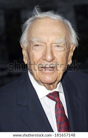 Walter Cronkite at Vanity Fair Party for the 6th Annual Tribeca Film Festival, New York State Supreme Courthouse, New York, NY, April 24, 2007