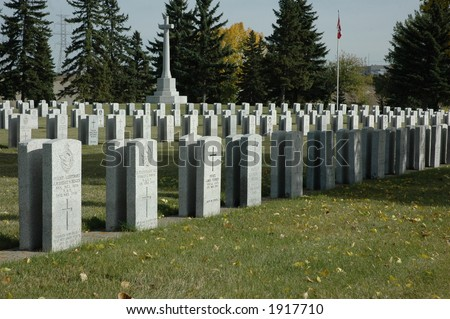 "war cemetary, ""head stone"" army, navy, ""air force"", battle,  resting, death, sombre., RCAF, FCN, RAF, RN"