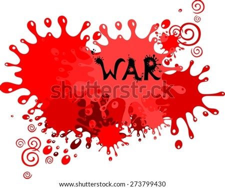 War. Illustration - stock photo