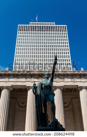 War Memorial Auditorium, Nashville, Tennessee, USA - stock photo