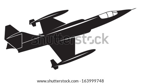 War plane - stock photo