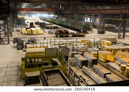 warehouse equipment for the repair and construction - stock photo