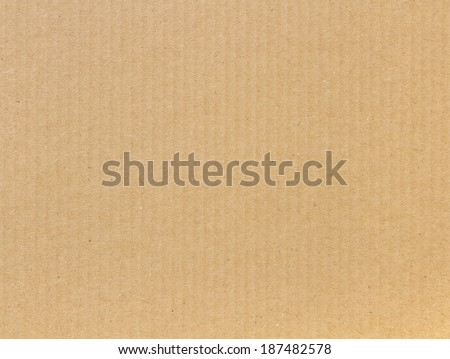 warm cardboard texture - stock photo