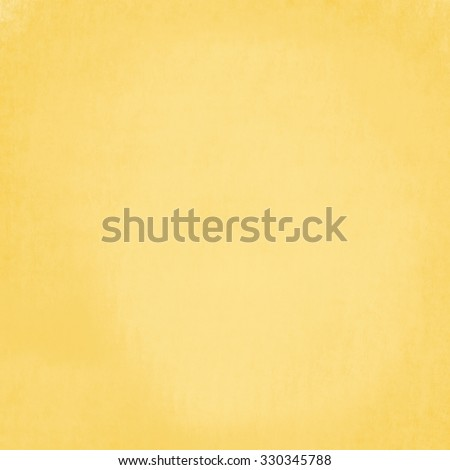 warm golden wall background paint, yellow gold paper with orange messy grunge color splash, light beige paper with darker grungy border, old worn page - stock photo