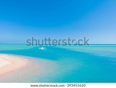 Warm Sea Paradise  - stock photo