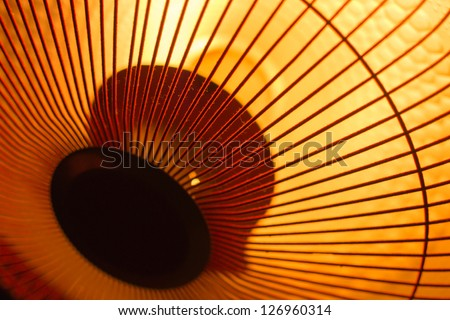 warmer details view - stock photo