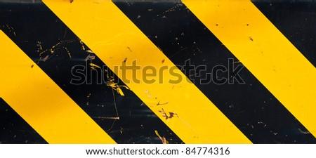 Warning background - stock photo