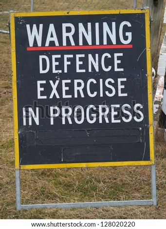 Warning sign, New Zealand