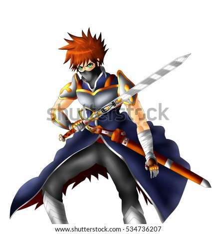Anime Light Swordsman | www.pixshark.com - Images ...