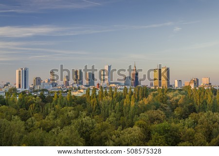 Warsaw capital city of Poland