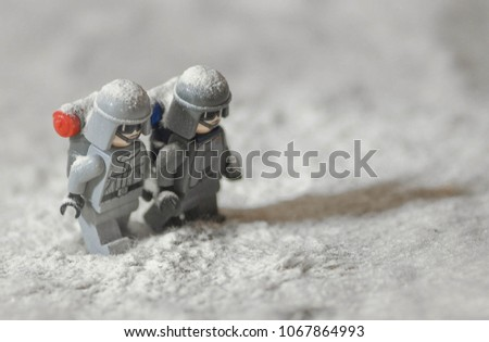 Warsaw Poland October 2017 Lego Star Stock Photo (Royalty Free ...