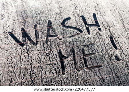 Wash Me Stock Images Royalty Free Images Vectors Shutterstock