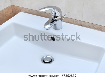 washbasin - stock photo