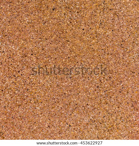 Washed gravel texture