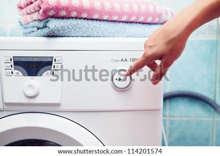 washer - stock photo
