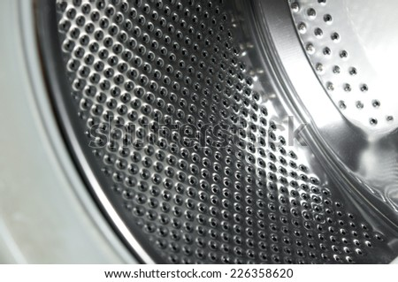 washing machine (inside)