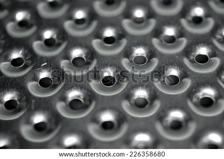 Washing machine tank, background, texture  - stock photo