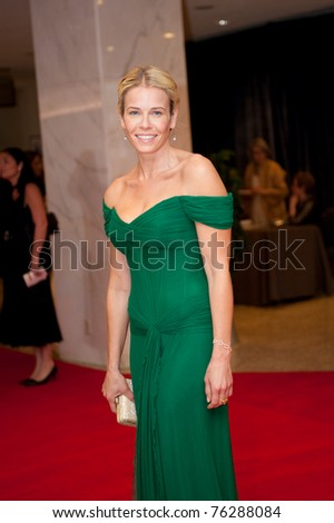 WASHINGTON - APRIL 30: Chelsea Handler arrives at the White House Correspondents Dinner April 30, 2011 in Washington, D.C.