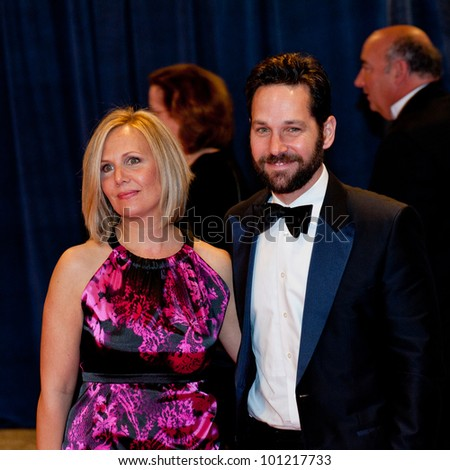 WASHINGTON - APRIL 28: Paul Rudd arrives at the White House Correspondents Dinner April 28, 2012 in Washington, D.C.