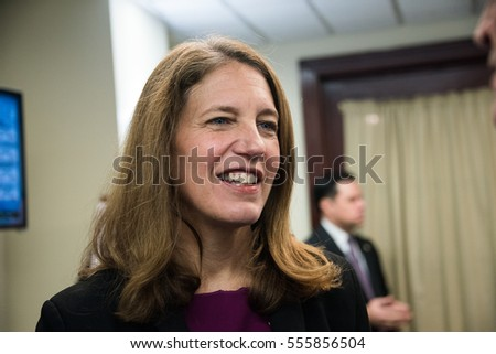 WASHINGTON, D.C.- January 9, 2017: Secretary of Health and Human Services Sylvia Burwell speaks on the future of the Affordable Care Act at the National Press Club