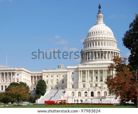Washington DC Capitol , USA - stock photo