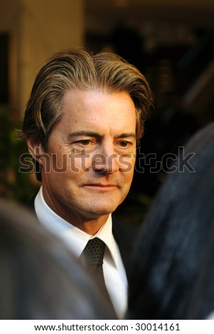 WASHINGTON, DC - MAY 9: Kyle Maclachlan arrives at the White House Correspondents' Dinner May 9, 2009 in Washington, D.C.