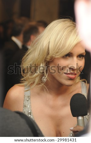 WASHINGTON, DC - MAY 9: Natasha Bedingfield arrives at the White House Correspondents' Dinner May 9, 2009 in Washington, D.C.