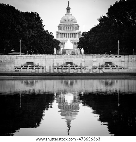 Washington DC - United States Capitol Building