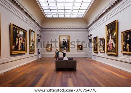 Marvelous WASHINGTON, USA   SEP 24, 2015: Interior Of The National Gallery Of Art