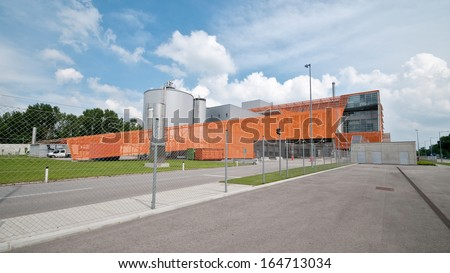Waste incineration plant recycling energy