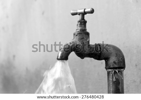 waste water                               - stock photo