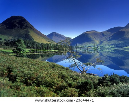 wastwater, the lake district, UK