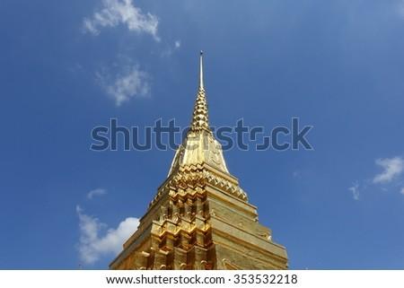 Wat Phra Kaew - Temple - stock photo