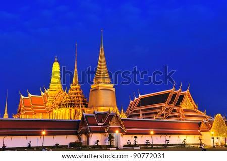 Wat Phra Kaew, Thailand - stock photo