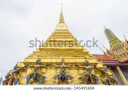 Wat Prakaw, Bangkok, Thailand. - stock photo