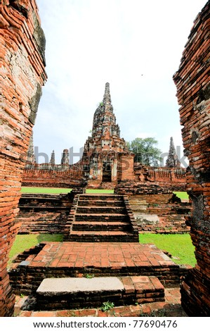 Wat Thai in Ayutthaya