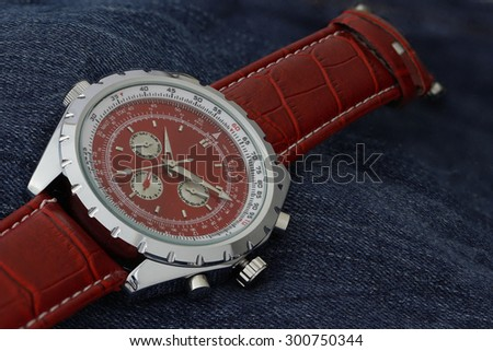 Watch for men - stock photo