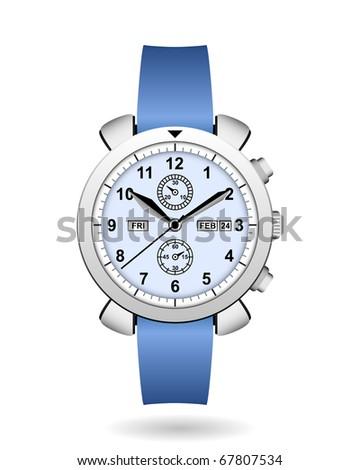 Watch Man Men Wristwatch Expensive Luxury - stock photo