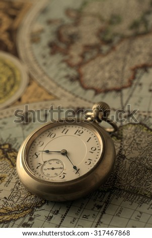 Watch, map