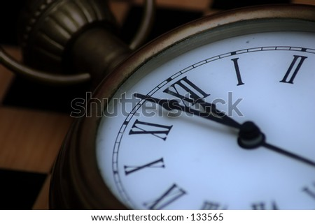 Watch Series: almost done - stock photo