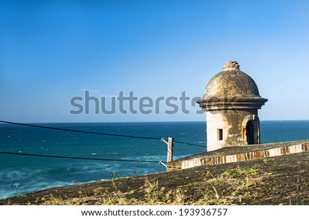 Watch Tower Overlooking the Sea
