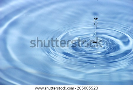 water  - stock photo