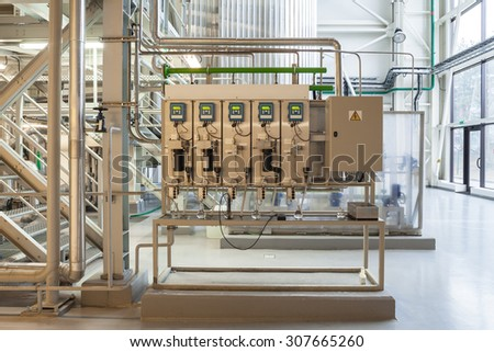 water and steam quality control unit